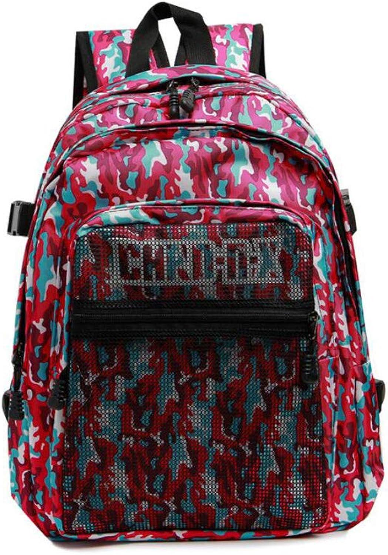 Cvbnm Einzelne Umhngetasche Outdoor Camouflage Reiserucksack Computertasche Oxford Zipper Student Bag Double Back