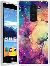 Untouchble Case for LG K8V Case   VS500 Gen   K8 V from Verizon Flexible Case [Flex Max] Slim Flexible Gel Case Bump and Drop Protection - Colorful Galaxy Stars