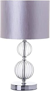 Lola Derek - Lámpara de sobremesa Moderna Transparente de Cristal para Salón Arabia