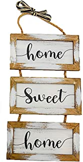 S.T.C. Home Family Sign for Wall Front Door Indoor Outdoor Country Rustic Primitive Decor Art 20