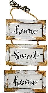home sweet home front door sign