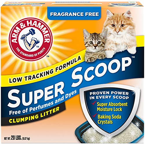 Arm & Hammer Unscented Super Scoop Litter