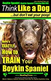Boykin Spaniel, Boykin Spaniel Training AAA AKC: Think Like a Dog, But Don't Eat Your Poop! | Boykin Spaniel Breed Expert Training |: Here's EXACTLY How To Train Your Boykin Spaniel