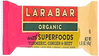 Larabar Organic with Superfoods Turmeric Ginger Beet 1.6 oz (15 Bars)