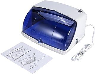 紫外線滅菌キャビネット 紫外線消毒ボックス 8W LED 可動トレイプロ マニキュア ネイルアート ホーム 美容室 自宅(US)