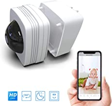 Wayee Security Cameras, Wireless IP Camera HD 1080P Indoor Surveillance Camera for Home/Office with Two Way Audio WiFi Motion Detection Dome Camera Baby Pet Monitor - White
