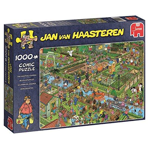 Jumbo- The Vegetable Garden Puzle de 1000 Piezas (619057.0)