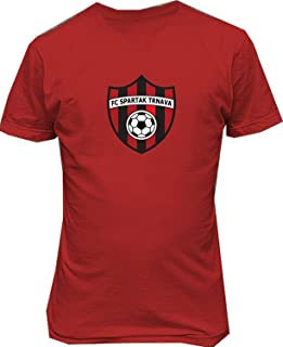Tatuu Spartak Trnava Slovakia Soccer Casual T Shirt for Mens