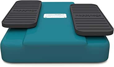 happylegs Blue- The Seated Walking Machine + Foot Straps - The Best Passive Leg Exerciser Worldwide