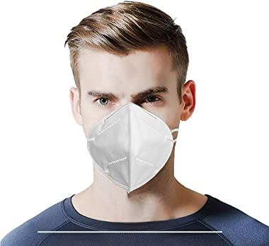 Hitrume 10PCS GB2626-2006 Standard Disposable_Face_Mask with External Nose Wire, Elastic Ear Loop, Ship from USA