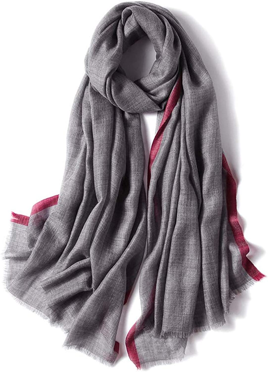Multicolor Women's Autumn and Winter Scarf Cold and Soft Shawl Cardigans Sweater Coat (color   C13)