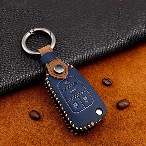 QWASDFG 2020 Nueva protección de la Cubierta de la Caja de la Llave del Coche, para Buick VELITE 5 para Lacrosse Envision Regal Verano Encore para Opel Astra Ring F-Bule