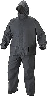 BENJOY Men's Micro Polyester Raincoat Windcheater Assorted_XXL Black