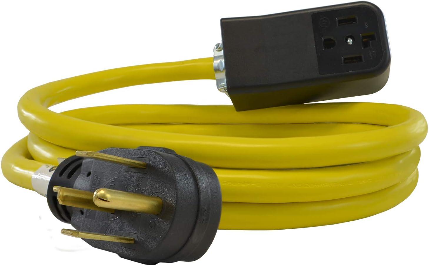 Conntek SB1430PR-025 NEMA 14-30P Heavy Max 46% Indefinitely OFF 25-F Duty Extension Cord