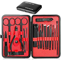 18-Piece Epartswide Manicure Pedicure Set with Portable Travel Case