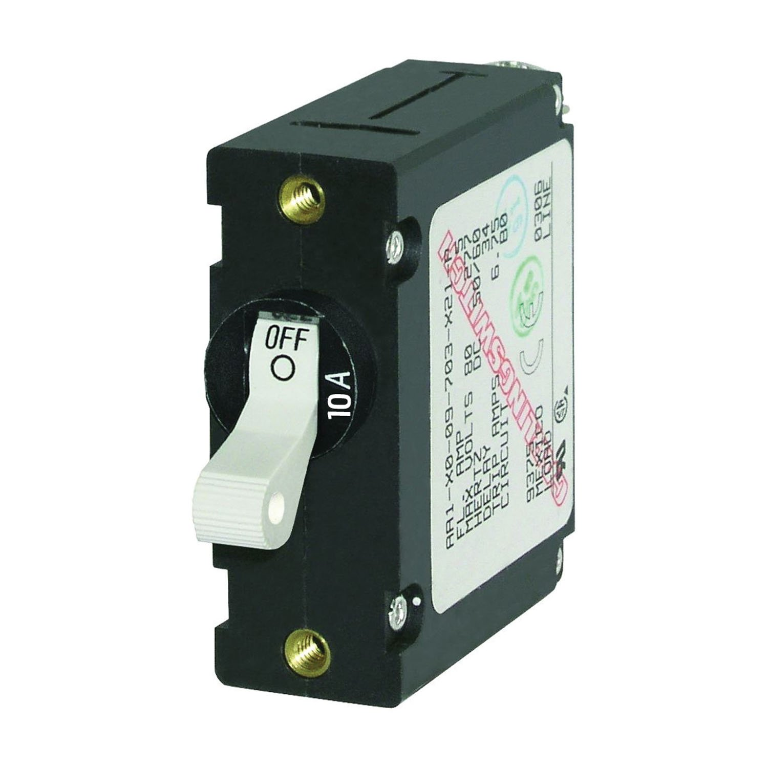 Blue Sea 7206 AC DC Single Breaker Circuit - Pole safety Magnetic Max 72% OFF World