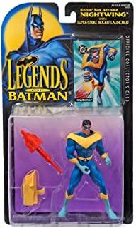 Kenner DC Comics Legends of Batman Robin Becomes Nightwing Action Figure 4.75 Inches