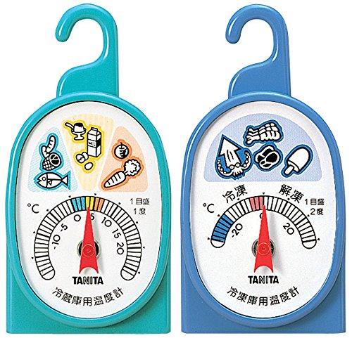 タニタ 温度計 冷蔵庫 冷凍庫 5497