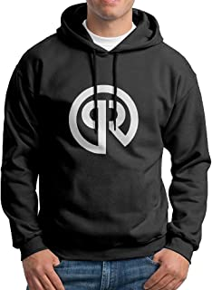 Men's Porter Robinson Logo Black Pullover Sweatshirt