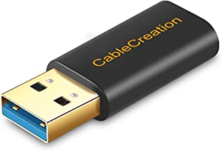 CableCreation USB 3.0 A Male to USB-C Female Adapter, Type 3.0 to Type C Converter Data & Charging for USB-C Charge Cable,...