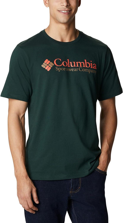 Columbia Men's CSC Basic Logo Short Sleeve