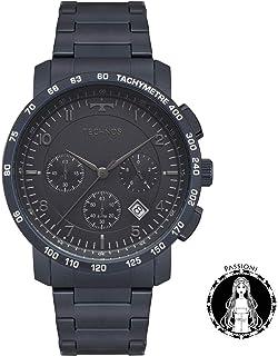 Relógio Technos Masculino Skymaster Azul 6s20ac/4a