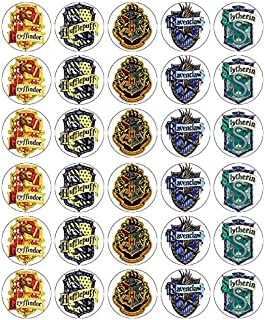30 obleas comestibles para cupcakes, diseño de Harry Potter