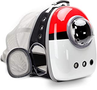 Expandable Cat Carrier Backpack for Cats, Space Capsule Bubble Pet Travel Carrier for Small Dog, Pet Hiking Traveling Back...