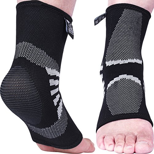 Nordic Lifting Ankle Compression Sleeves (1 Pair)...