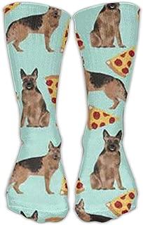 German Shepherd Pizza Upgraded Unisex30CM Leisure Comfortable Sports Socks