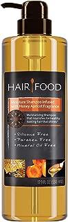 Hair Food Moisture Shampoo with Honey Apricot Fragrance, 17.9 Fluid Ounce