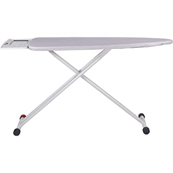 Gimi Bolt Foldable Large Ironing Board with Aluminised Ironing Surface and Iron Stand Brought to You by Gala