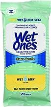 Wet Ones Hand Wipes Extra Gentle for Sensitive Skin, 20 Count