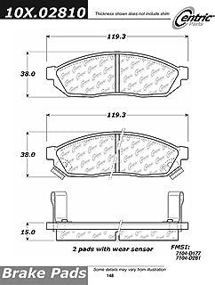Centric Parts 102.01530 102 Series Semi Metallic Standard Brake Pad