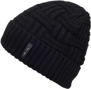 Spikerking Mens Winter Knitting Wool Warm Hat Daily Slouchy Hats Beanie Skull Cap