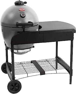 Char-Griller E6520 AKORN Kamado Charcoal Grill Cart, Ash