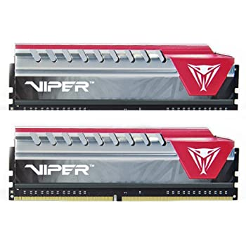 Patriot Viper Elite Series DDR4 16GB (2 x 8GB) 2400MHz Kit (Red) PVE416G240C5KRD