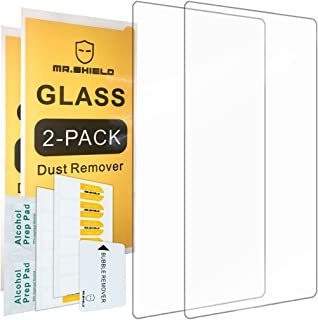 [2-Pack]-Mr.Shield for Alcatel OneTouch Pop 7 LTE (T-Mobile) [Tempered Glass] Screen Protector [0.3mm Ultra Thin 9H Hardness 2.5D Round Edge] with Lifetime Replacement