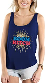 Women's USA Patriotic Tanks Tops - 4th of July Shirts for Ladies