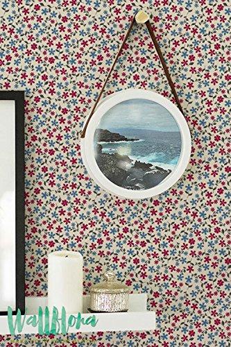 Colorful Daisy Motif fleur/Papier peint amovible sticker mural/papier peint motif Daisy/Daisy Sticker mural/papier peint adhésif Daisy, 53 Cm wide by 243 Cm Tall