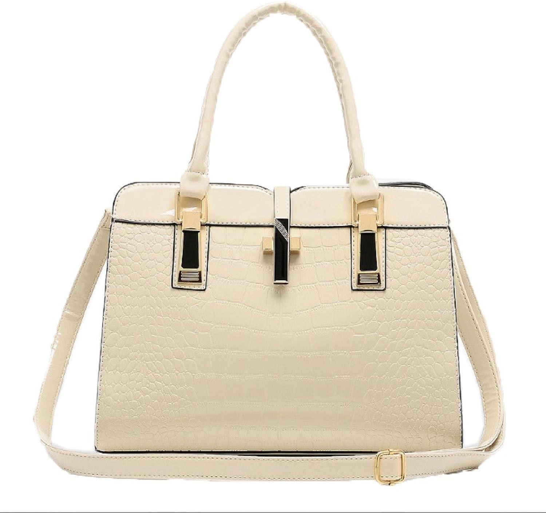 e55bee4657b9b Ladies Handbag New Wave Pattern Handbag Leather Ladies Sizing ...