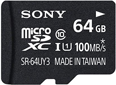 Sony 64GB MicroSDXC Secure Digital Flash Memory Card PERFORMANCE Serie...