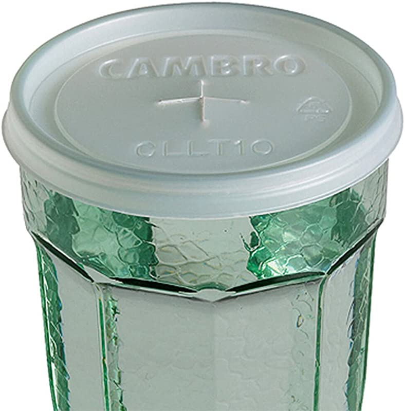 Cambro CLLT10190 Disposable Lid For Laguna Tumbler LT10 1000 CS
