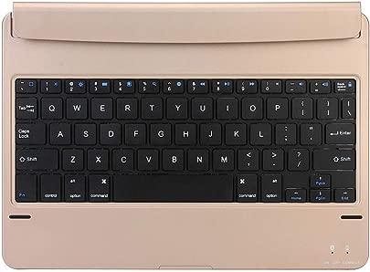 LIFEZONNY 9 7 Zoll Bluetooth Tastatur Leichte Drahtlose Tastatur mit 130 Grad f r Tablet Laptops Gold Schätzpreis : 22,99 €
