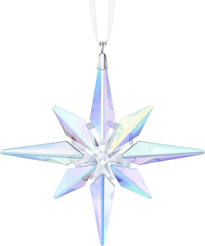 Swarovski Northern Lights Star Ornament, Crystal Aurora Borealis 5403200