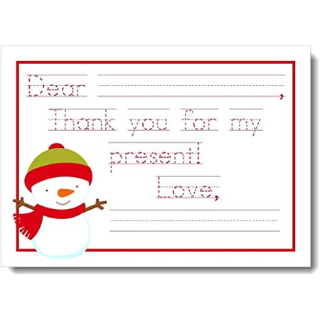 Teacher Thank You Children Note Custom Note Cards Kid/'s Thank You Card Teacher/'s Gifts or Stocking Stuffers Kid/'s Thank You Note Cards