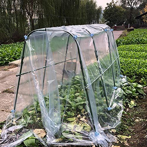 Draagbare kas, geïsoleerde groentetuin Warm schuur Koud en regendicht schuur Bodem-gebaseerde Plant Isolatie Kit Kouddichte Kit