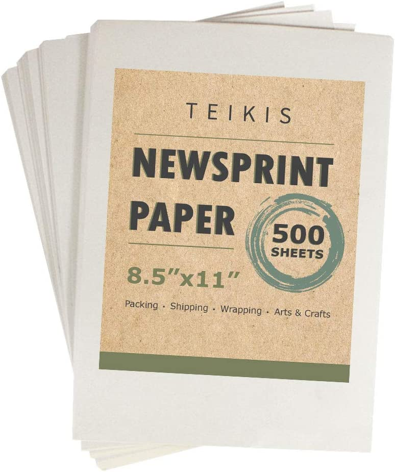 Popular shop Popular popular is the lowest price challenge TeiKis Clean Newsprint Packing Drawing Sketch Paper Unprinted -