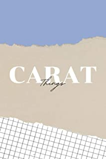 Carat Things Notebook/Journal (Serenity - Seventeen) - DOTTED