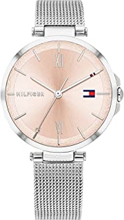 Tommy Hilfiger Women's Analogue Quartz Watch with Stainless Steel Strap 1782206